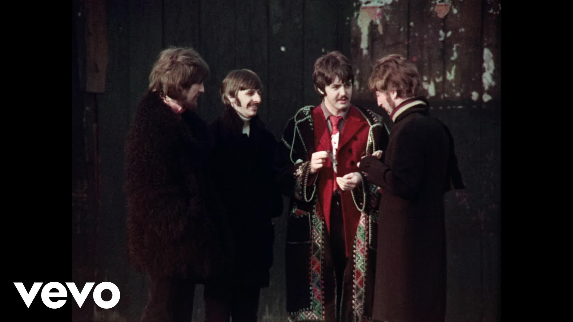 The Beatles 1 Video Collection is Out Now. Get your copy here: http://thebeatles1.lnk.to/DeluxeBluRay Two days after recording some overdubs for 'A Day In Th...