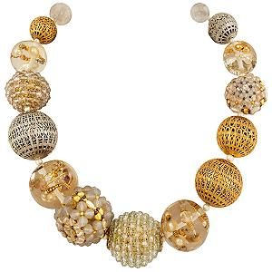 Miriam Haskell Beaded Ball Necklace