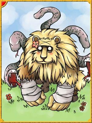 Chimera Card Ragnarok Online Desenhos Ilustracao