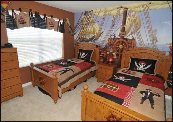 Pirate Theme Bedrooms Decorating Ideas And Pirate Themed Decor Pirate Bedroom Pirate Room Theme Boys Bedroom Themes
