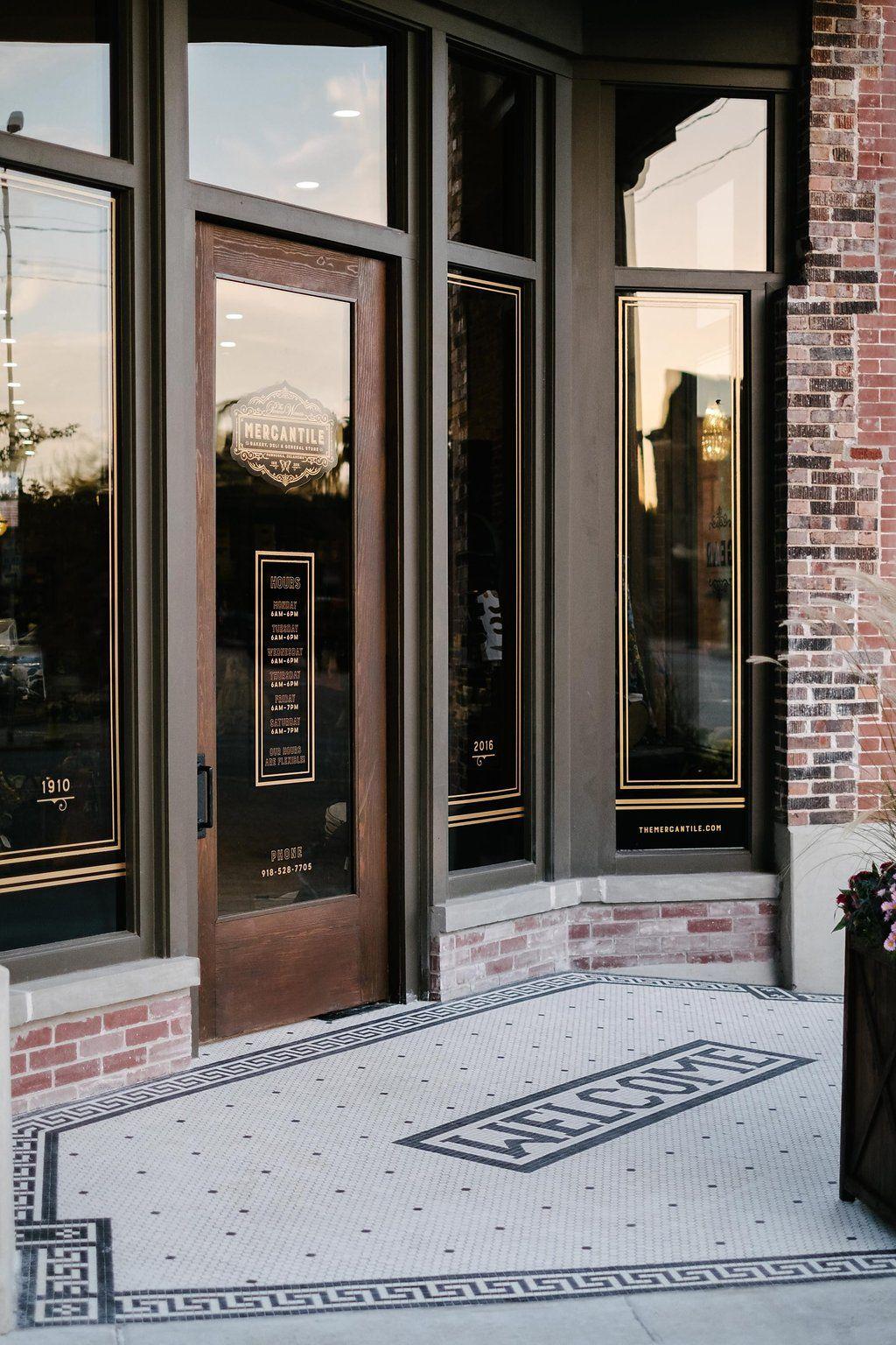 The Pioneer Woman Mercantile & Opening Week | Pioneer woman Doors and Bookstore design