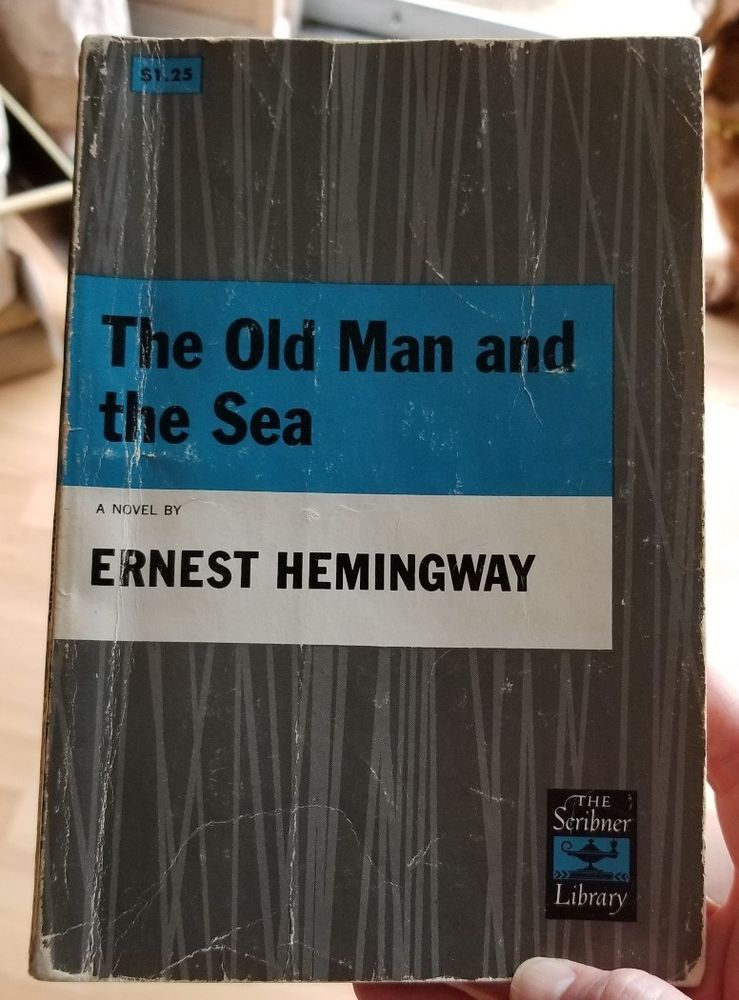 Hemingway the old man and the sea scribners 1952 old