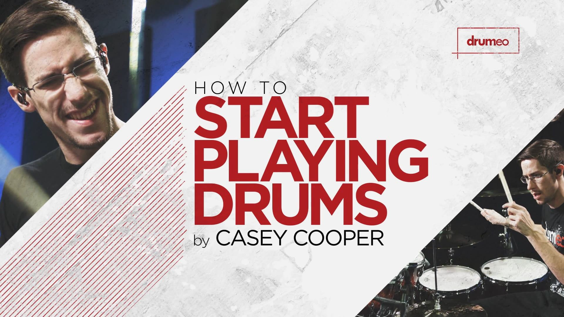 Get 5 Free Video Lessons With Star COOP3RDRUMM3R Covering