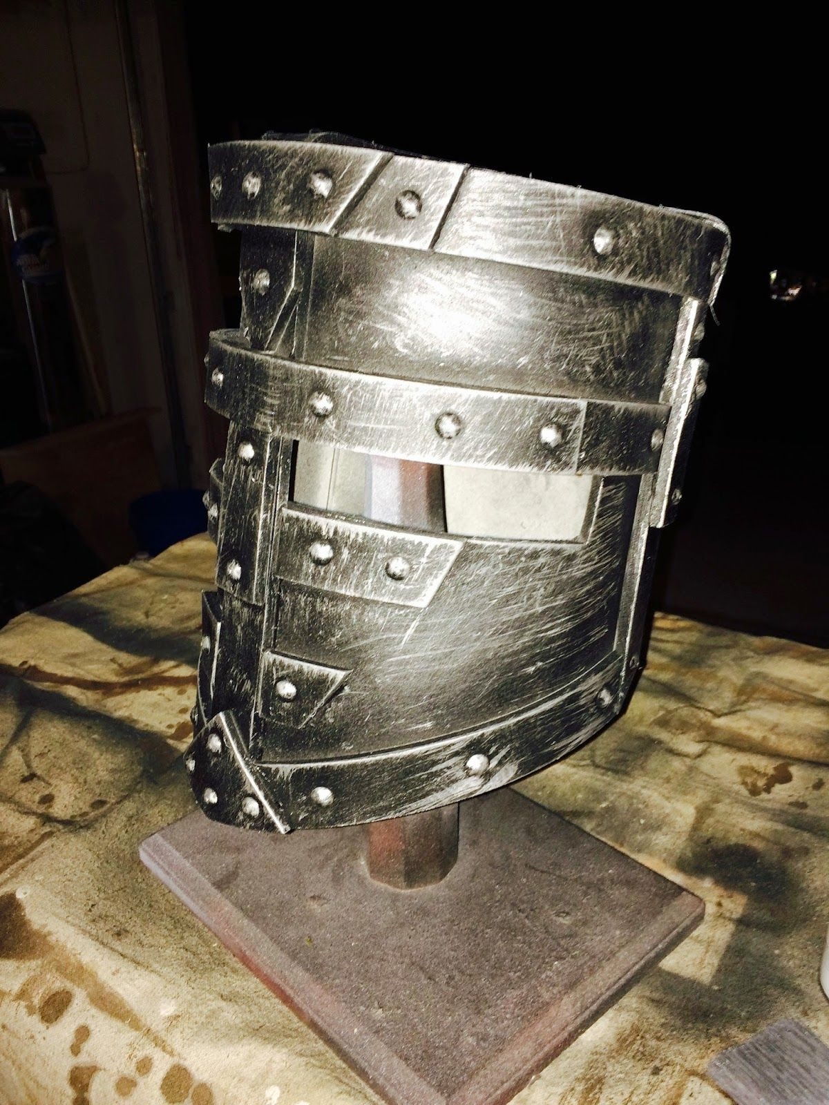A few years back I made some Sci fi Body Armor out of foam