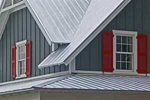 Best Good Color Combo I Think Grey Standing Seam Roof Combined 400 x 300