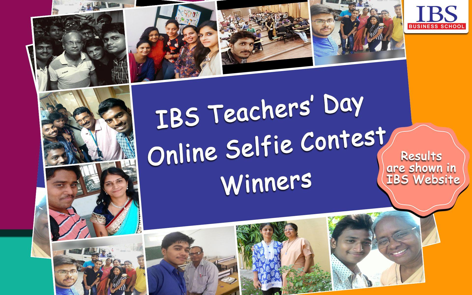 IBS Teachers' Day Selfie Contest Winners: http://ibsindia.org/selfieContest_winners/ #IBSAT2016