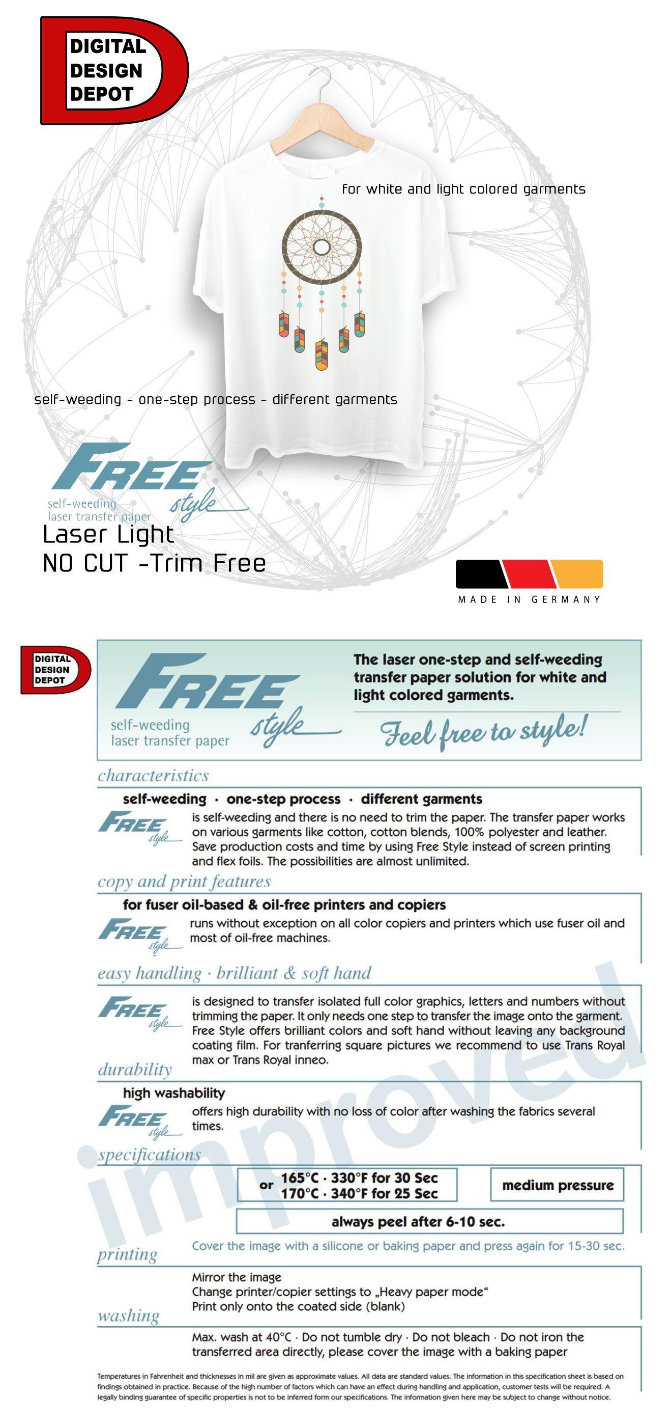 Other Art Supplies Laser Iron Trim Free Heat Transfer