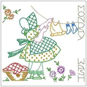 Sunbonnet Sue embroidery