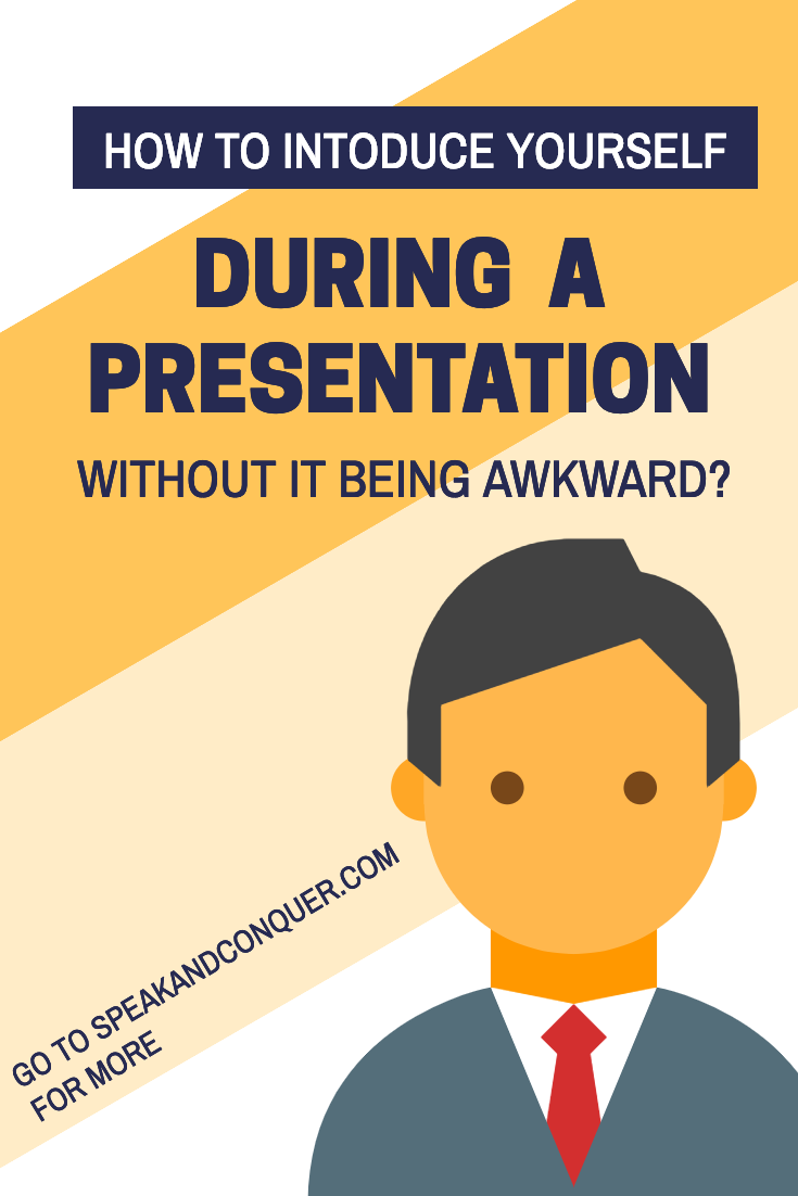 How To Introduce Yourself In A Presentation Without It Being