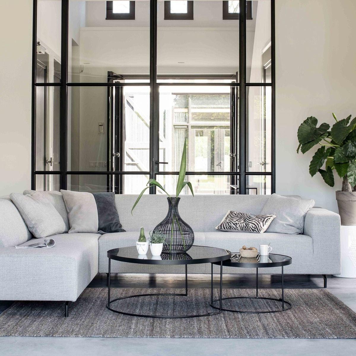 Inside Design Salontafel.Bodilson Salontafel Set Black Sun In 2020 Living Room Loft