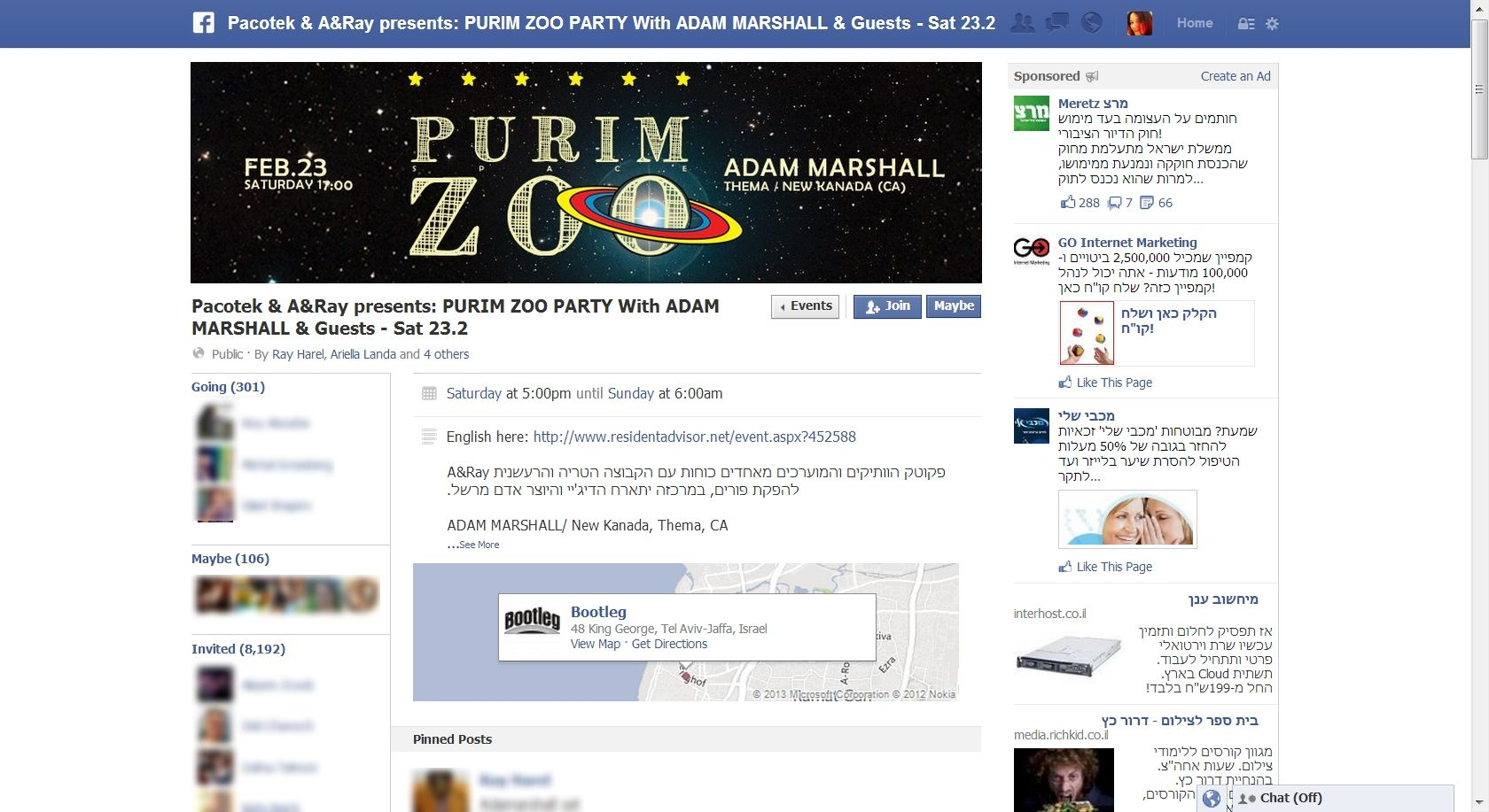 Facebook Testing New Layout For Events With Cover Images, Similar ...