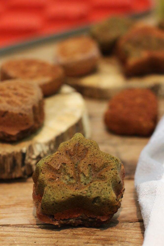 Gesunde bunte Muffins im Herbst - Food Design