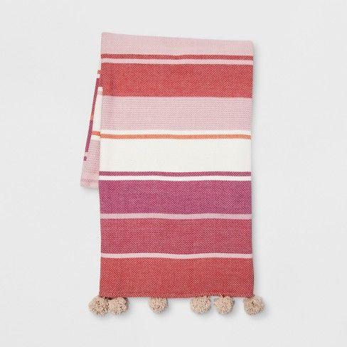 Opalhouse Woven Cotton Throw Blanket   Cotton throws, Woven cotton ...