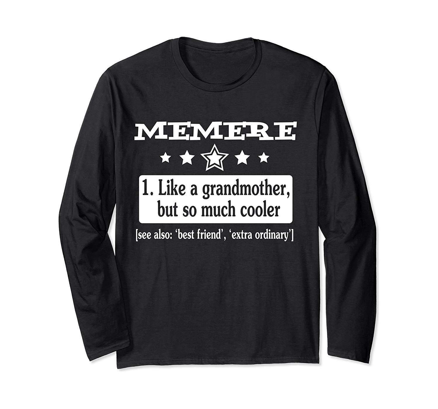 French Grandma Meme Funny Definition So Much Cooler Long
