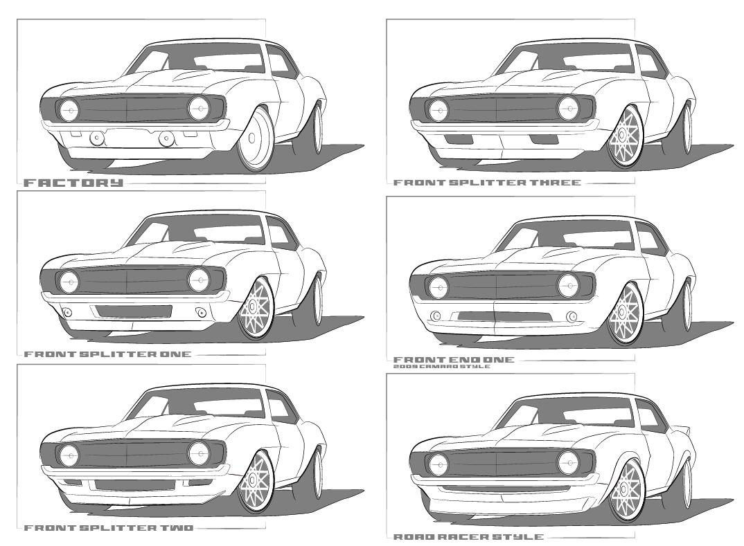 Front Valance Ideas For Nighthawk Camaro Nighthawks Rebuild