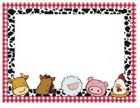 Invitación Cumpleaños Animales Granja Cumpleaños Niño
