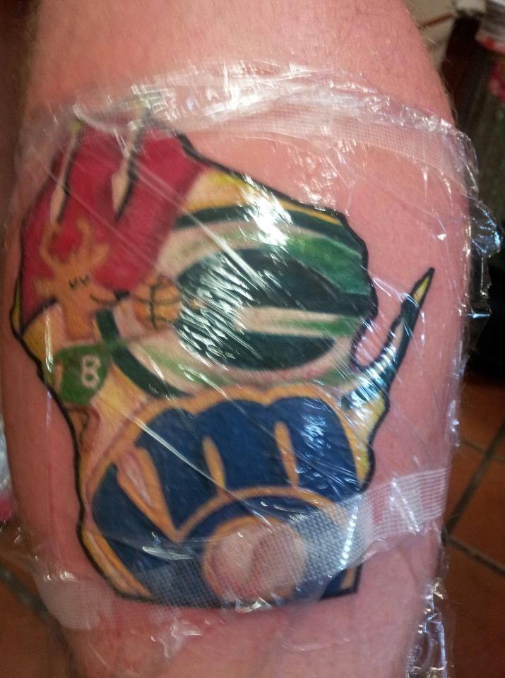 Wisconsin Badger Tattoo Tattoos Tattoos Pinterest Tattoos