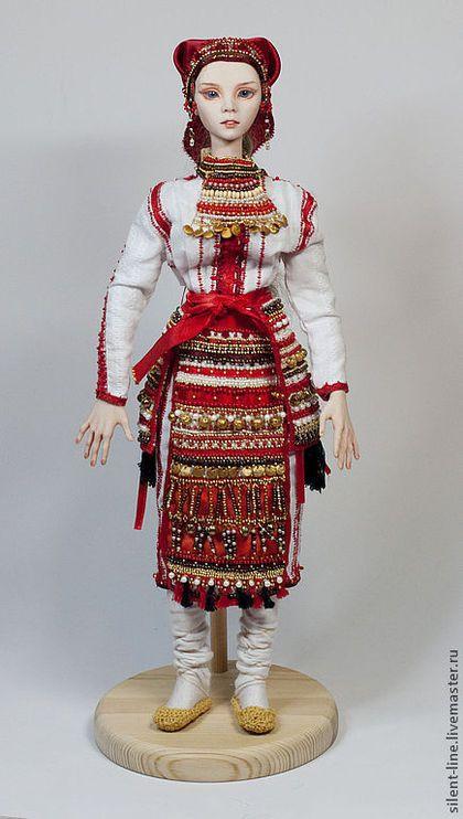 Кукла в национальном мордовском костюме (Эрьзя) – заказать ...