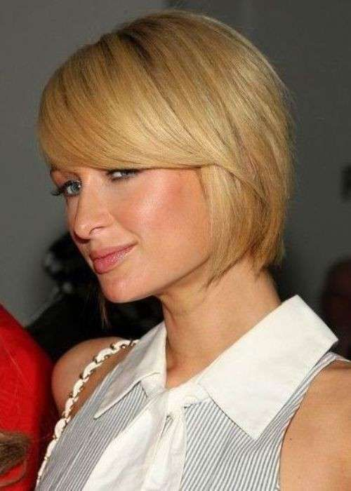 Tagli Capelli Viso Quadrato Paris Hilton Taglio Corto Viso