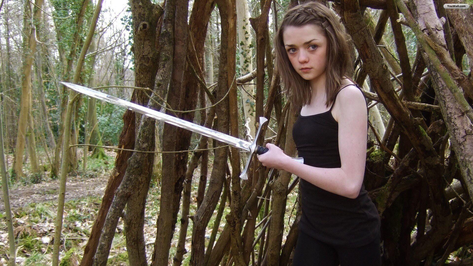 Arya Stark Wallpaper