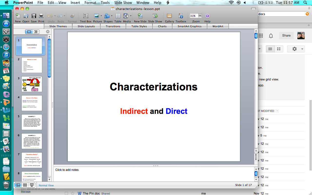 Characterization Lessons For Middle School Click For Blog