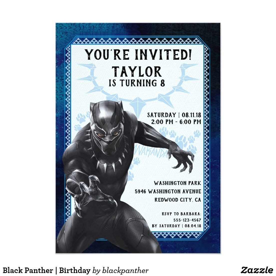 Bday Invitation Card