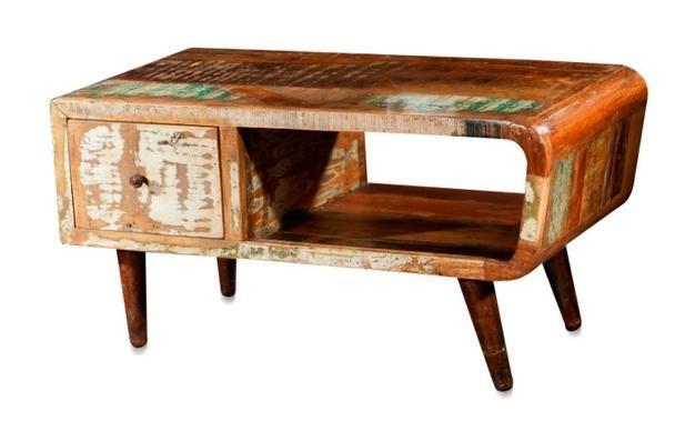 shabby chic couchtisch im vintage look vintage m bel bei. Black Bedroom Furniture Sets. Home Design Ideas