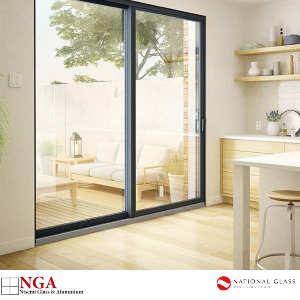 Patio Sliding Door Xo 2 Panel Single Slider In 2020 Modern Patio Doors Glass Doors Patio Sliding Patio Doors