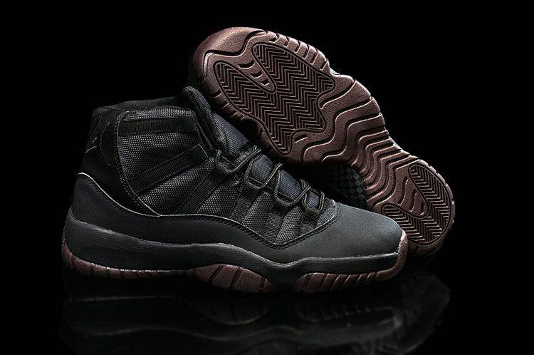 New Air Jordan 11 Matte Custom All Black For Sale Online Shoes