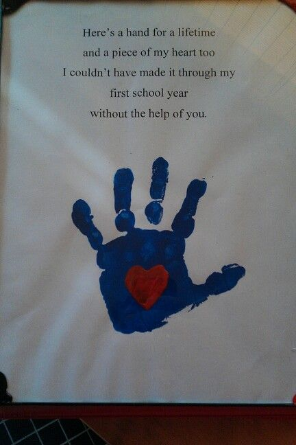My son and I made this as a farewell gift to his PreK ...