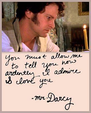 Mr.Darcy <3 <3 <3