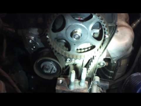 Timing Belt Water Pump Replacement 2007 2010 Hyundai Elantra 2 0l Install Remove Replace Youtube Hyundai Elantra Elantra Timing Belt
