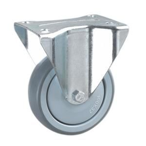 Name Tpr Trolley Caster Wheel Material Pa Pp Tpr With Metral Frame