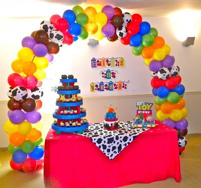 Adornos con globos para fiestas decoraci n de fiestas - Adornos de globos ...