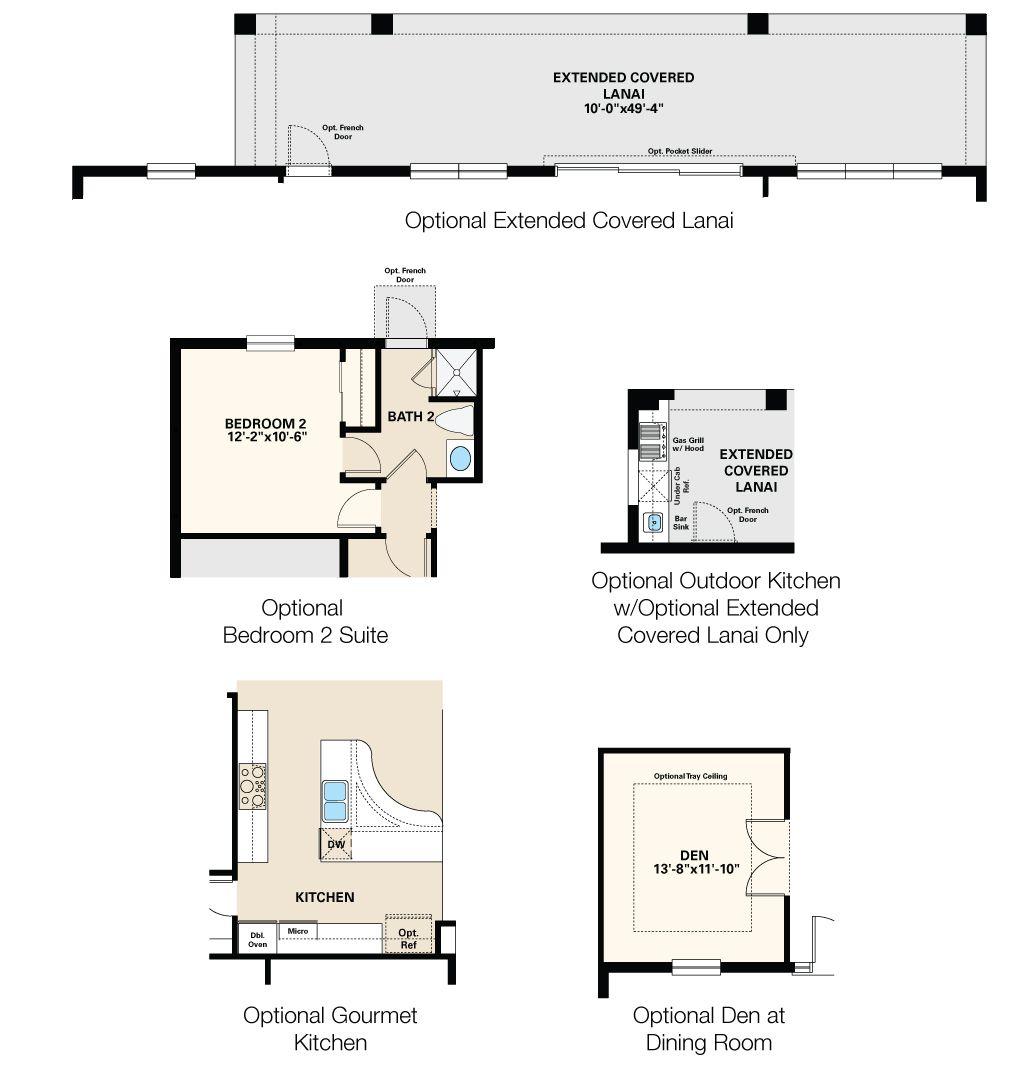 Arbor Oaks Florida: Magellan III Floor Plan Options