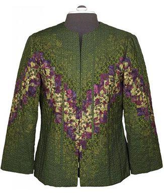 Figure Flattering Quiltwear Quilted Jacket Patterns