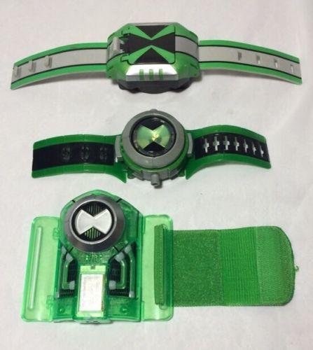 Ben 10 Omnitrix Wrist Watch Lot Of 3 Bandai For USD19.99