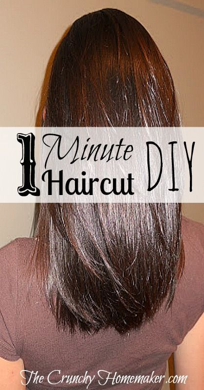 1 minute haircut diy layered hair cut the crunchy homemaker do 1 minute haircut diy layered hair cut the crunchy homemaker solutioingenieria