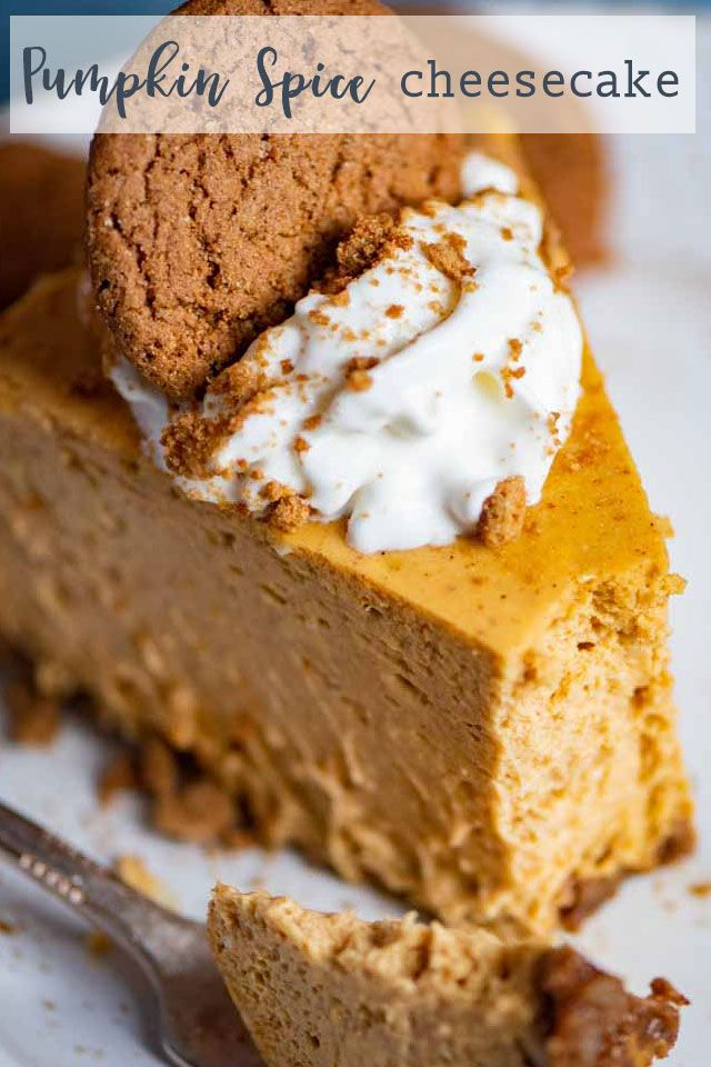 Pumpkin Spice Cheesecake Pumpkin Cheesecake Recipes Cheesecake Recipes Pumpkin Spice Cheesecake