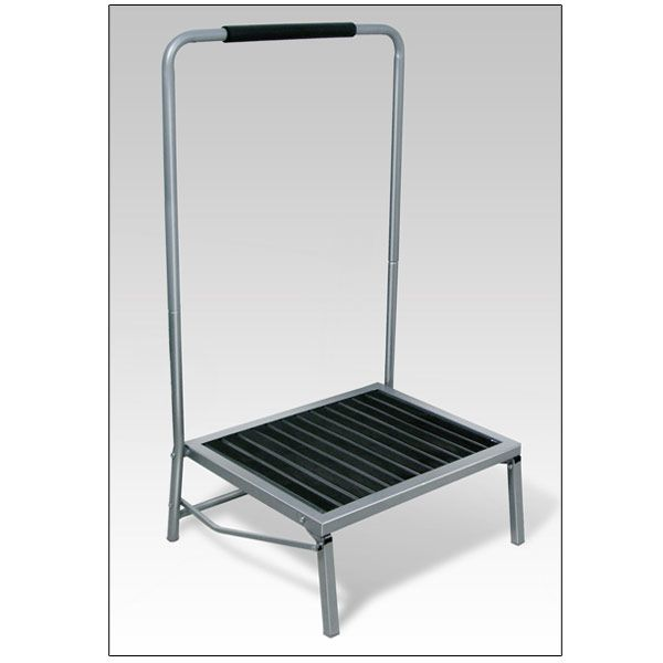 Extra Wide Folding Step Stool With Handle Home Safety