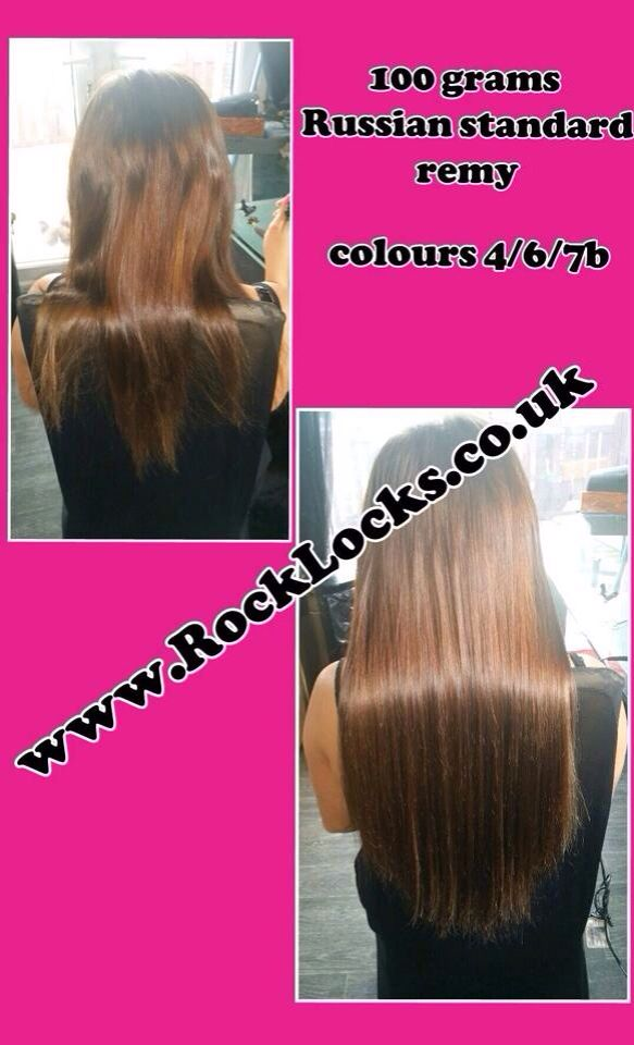 100g Prestige Keratin Bonded Hair Extensions Remy Aaaa 3 Colour