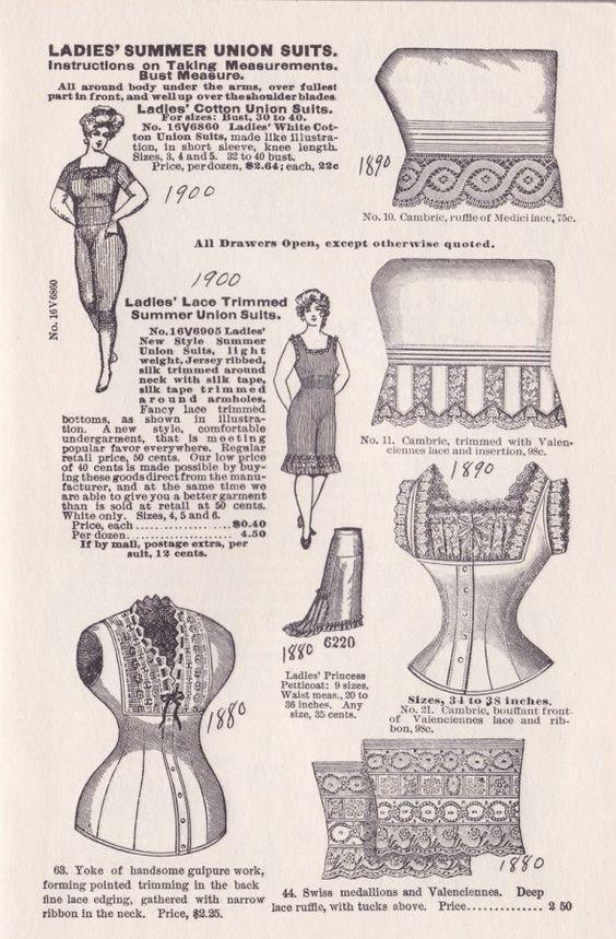 1890's womens undergarments - Google Search | Threepenny Opera ...