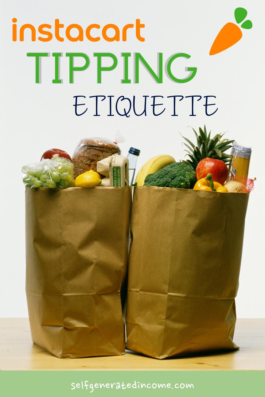 Instacart Tipping Etiquette in 2020 Instacart, Delivery