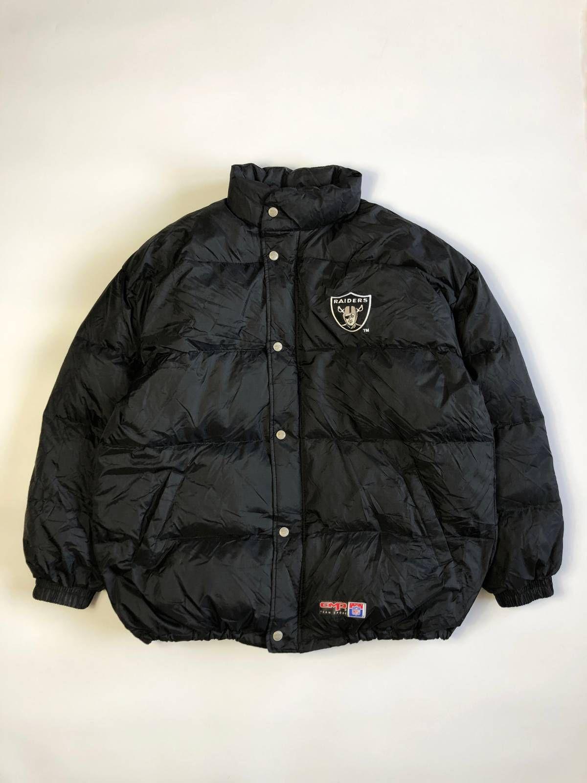 Oakland Raiders Nfl Cmp Team Sport Vintage Bubble Puffer Down Jacket Grailed Oakland Raiders Nfl Raiders Jackets [ 1600 x 1200 Pixel ]