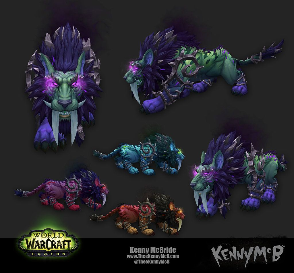 Feral Druid Artifact Form - Nightmare by TheeKennyMcB | Druid, Artifacts,  Warcraft legion
