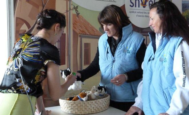 Le syndicat national des vétérinaires d'exercice libéral (SNVEL) est présent au Salon de l'Agriculture régional, sous le Hall 4.