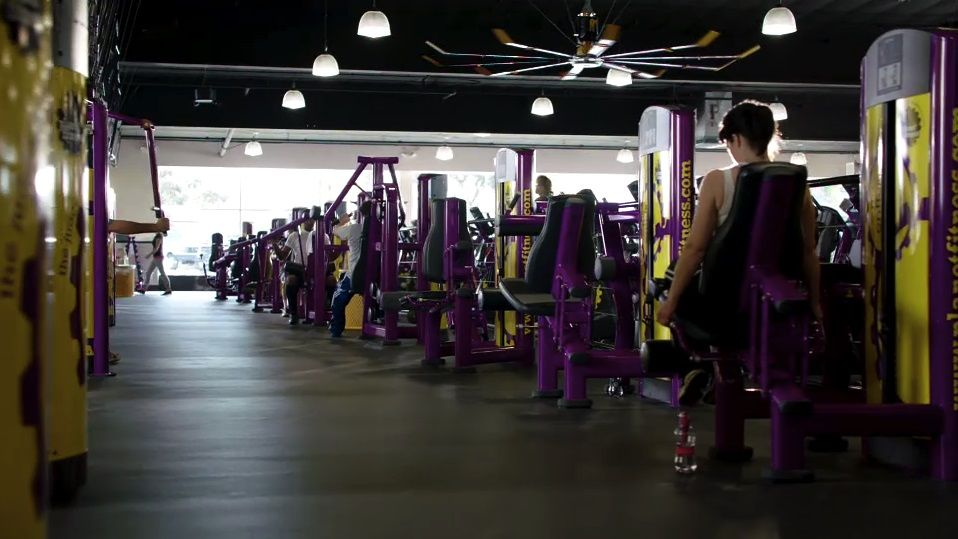 Planet Fitness Proud Home Of The Judgement Free Zone Planet Fitness Workout Planet Fitness Gym Planets