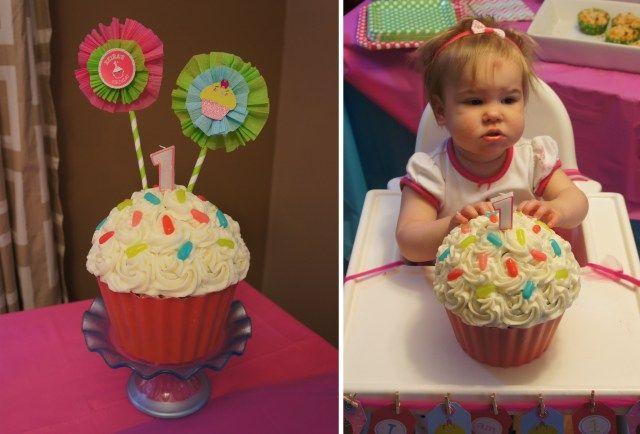 28+ Giant Cupcake Cake For 1St Birthday #giantcupcakecakes