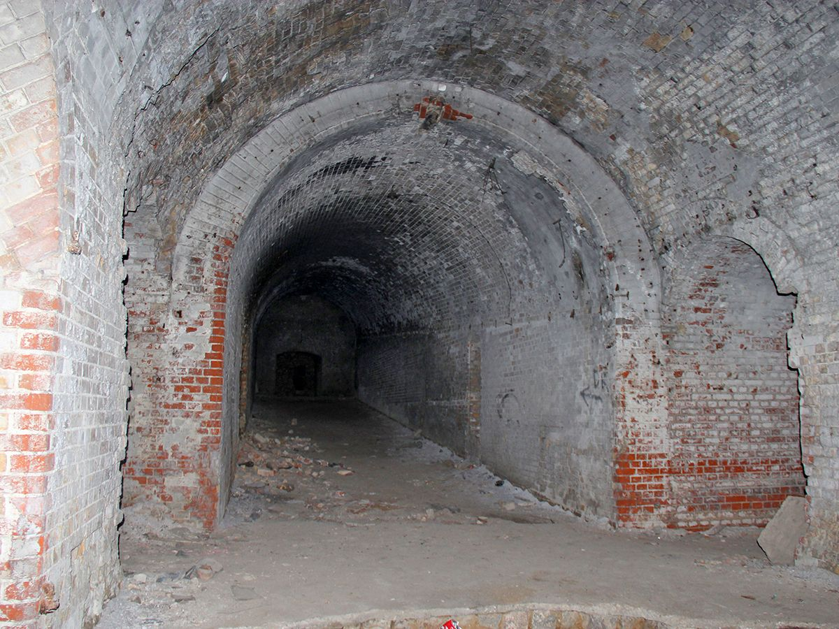 Коридор в форте № 8