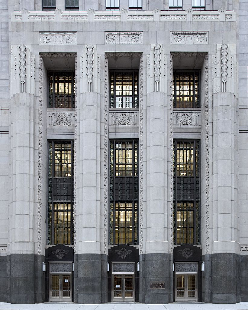 John W Mccormack U S Post Office And Courthouse Boston Massachusetts Built In 1931 1933 Arc New Classical Architecture Architecture Facade Architecture